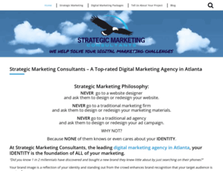 strategicmarketing-consultants.com screenshot