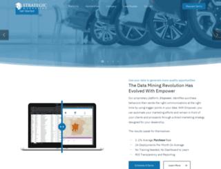 strategicmarketing.com screenshot