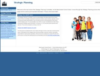 strategicplanning.mansd.org screenshot