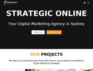strategicseo.com.au screenshot