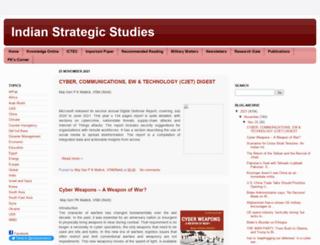 strategicstudyindia.blogspot.hu screenshot