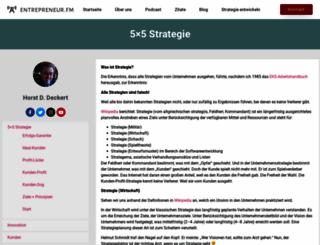 strategie.com screenshot