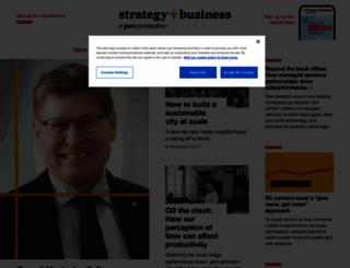 strategy-business.com screenshot