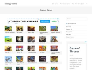 strategy-games.trzn.com screenshot