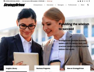 strategydriven.com screenshot