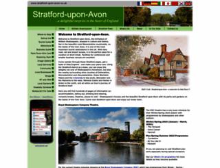 stratford-upon-avon.co.uk screenshot