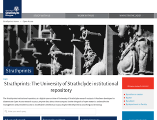 strathprints.strath.ac.uk screenshot