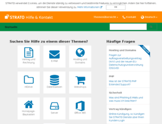 strato-faq.de screenshot