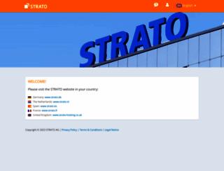 strato.com screenshot