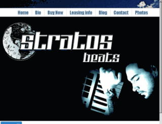 stratosbeats.com screenshot