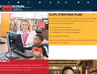 stratplan.toledolibrary.org screenshot