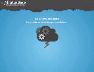 stratusbase.com screenshot