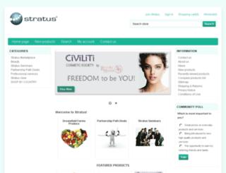 stratusnetwork.com screenshot