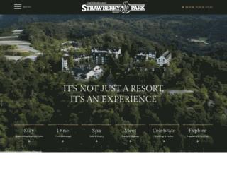 strawberryparkresorts.com screenshot