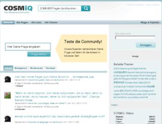 stream.cosmiq.de screenshot