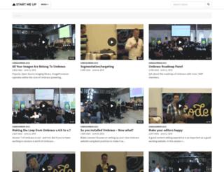 stream.umbraco.org screenshot
