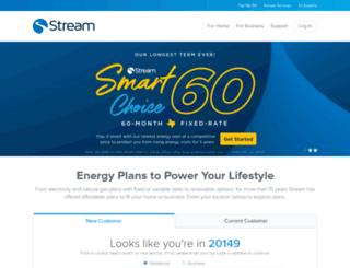 streamenergy.net screenshot