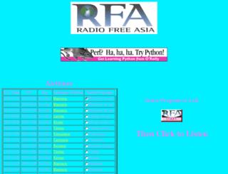 streamer1.rfaweb.org screenshot