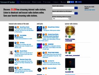 streamfinder.com screenshot