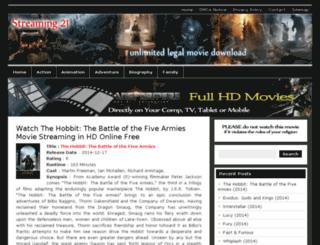 streaming-21.com screenshot