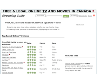 streaming-guide.com screenshot