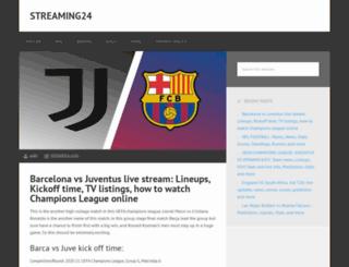 streaming24.live screenshot