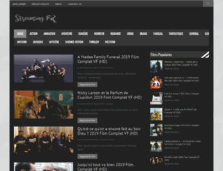 streamingfr.website screenshot