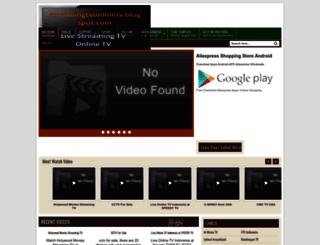 streamingtvonlinetv.blogspot.com screenshot