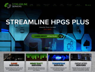 streamline-servers.com screenshot