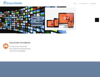 streamsitemx.com screenshot
