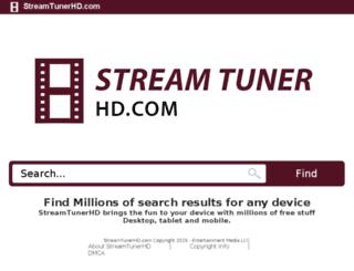streamtunerhd.com screenshot
