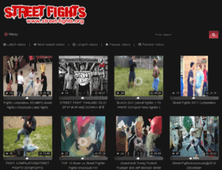 street-fights.org screenshot
