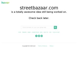 streetbazaar.com screenshot