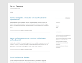 streetcustoms.com.br screenshot