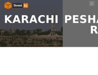 streetexcourier.pk screenshot
