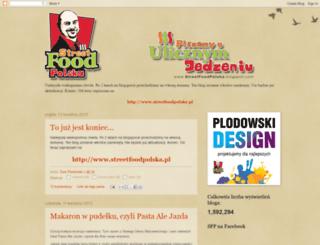 streetfoodpolska.blogspot.com screenshot