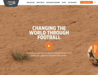streetfootballworld.org screenshot