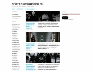 streetphotographerblog.wordpress.com screenshot