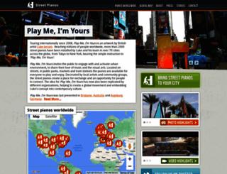 streetpianos.com screenshot