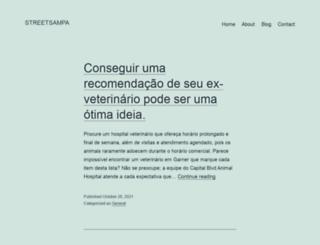 streetsampa.com.br screenshot