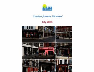 streetsensation.co.uk screenshot