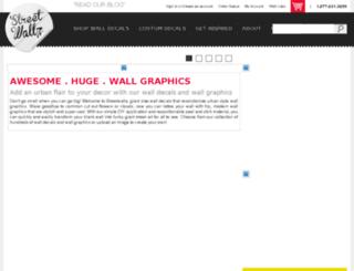 streetwallz.com screenshot