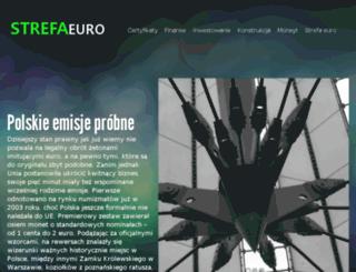 strefaeuro.com.pl screenshot