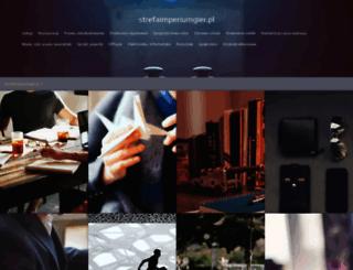 strefaimperiumgier.pl screenshot