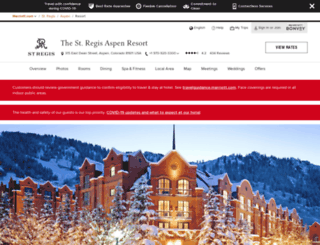 stregisaspen.com screenshot