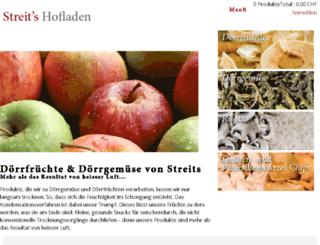 streits-hofladen.ch screenshot