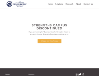 strengthscampus.com screenshot