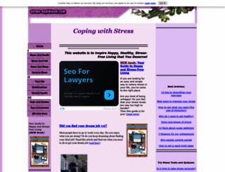 stress-explained.com screenshot