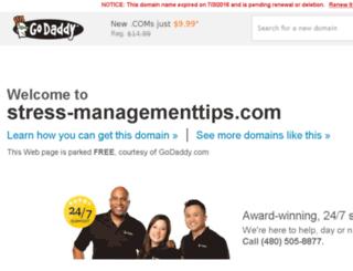 stress-managementtips.com screenshot