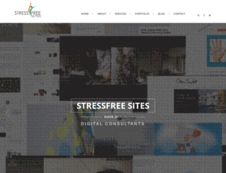 stressfreesites.co.uk screenshot
